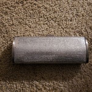 Silver Unlisted Kenneth Cole clutch